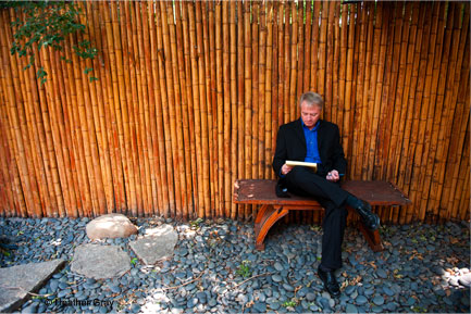 Steve McIntosh in Zen Garden