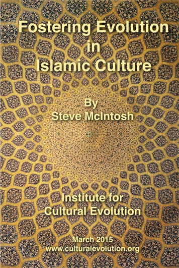 Fostering Evolution in Islamic Culture