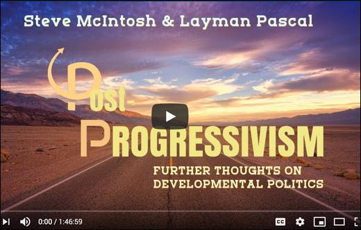 A Deeper Discussion of Post-Progressivism