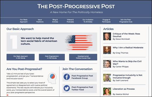 Launch of The Post- Progressive Post Website
